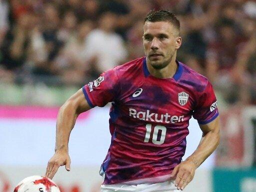 Lukas Podolski steckt mit Kobe weiter in der Krise
