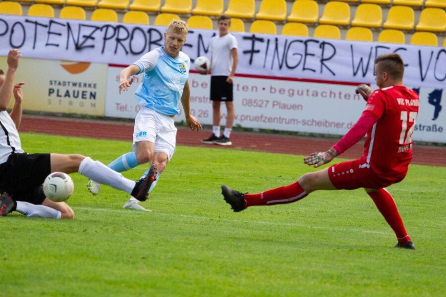 Chemnitzer FC holt schmeichelhaftes Unentschieden im Test beim VFC Plauen