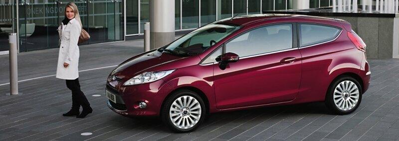 Der neue Ford Fiesta. Mitte Januar lief in Köln der 500.000. Fiesta der aktuellen Produktion vom Band.