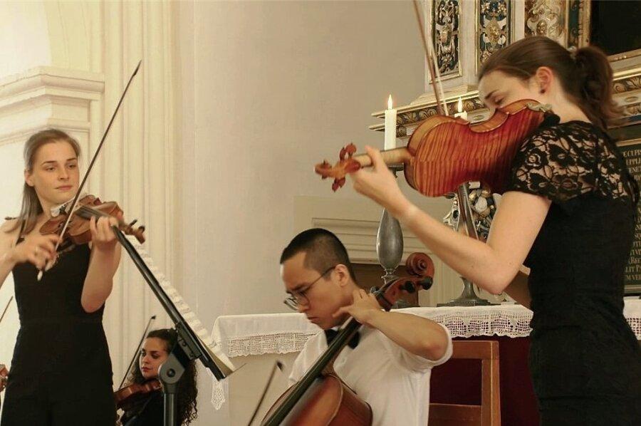 Ein Foto aus der Konzertreihe auf Schloss Augustusburg. Auch die Kammermusik kam im Musiksommer zur Geltung.
