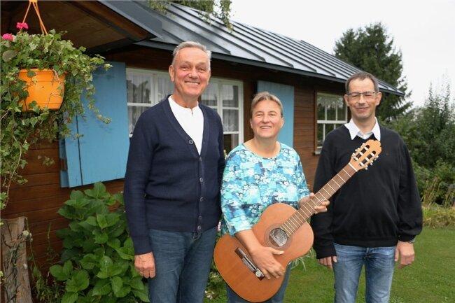 Kantor Ralf Schädlich, Yvonne Baumann und Hans-Joachim Schütt (von links) sind die Initiatoren.