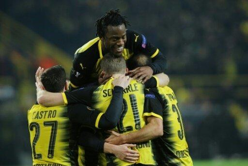 Michy Batshuayi  schießt entscheidende Tore für Dortmund
