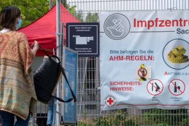 Seit Freitag können sich Menschen in Sachsen auch ohne Termin impfen lassen.