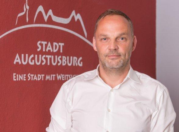 Der Augustusburger Bürgermeister Dirk Neubauer.