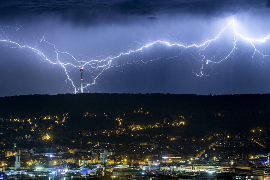 Deutscher Wetterdienst rechnet mit Gewittern in Sachsen