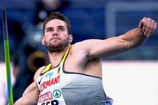 Bei der Team-EM im polnischen Chorzow katapultierte Johannes Vetter den Speer auf die Weltjahresbestweite von 96,26 Meter.