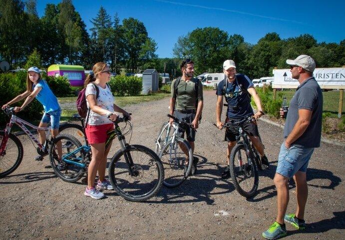 Viele Gäste kommen aus der Region und kehren für den Urlaub in die alte Heimat zurück. So auch eine Familie, die mittlerweile in Potsdam lebt.