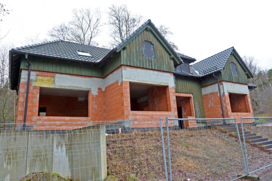 Unvollendeter Neubau wartet auf Nutzung