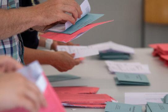 Am Sonntag wird in Plauen ein neuer Oberbürgermeister gewählt. Beim Wahlgang gelten die Regeln des Hygienekonzeptes.