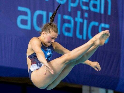 3-m-Brett: Tina Punzel gewinnt die Bronzemedaille