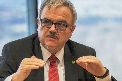 Frank Vogel, Landrat des Erzgebirgskreises