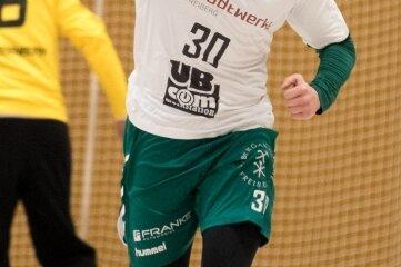 Hausaufgabe gelöst: Robert Leo Jehmlich steuerte gegen Döbeln vier Tore zum 33:30 bei.
