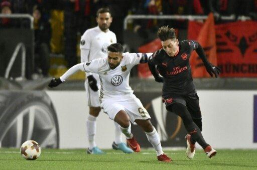 Problemloser Sieg des FC Arsenal gegen Europacup-Neuling