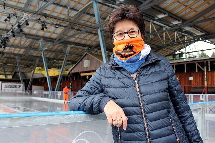 Ines Puhan, Geschäftsführerin der Stadtwerke Oelsnitz.
