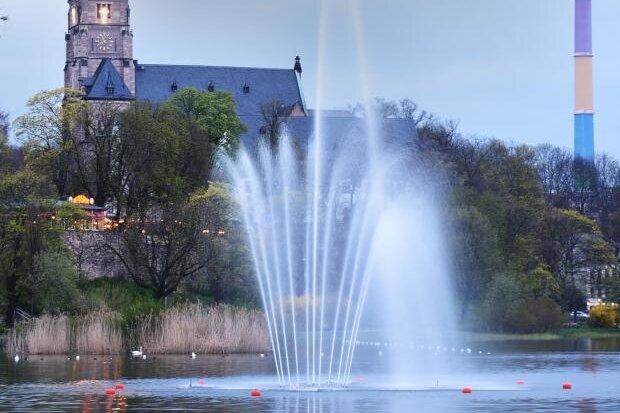 Wasser marsch: Chemnitz eröffnet Brunnensaison 2018