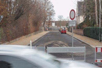 Die Bauarbeiten an der Gabelsbergerstraße in Limbach-Oberfrohna sollen noch in diesem Jahr abgeschlossen werden können.