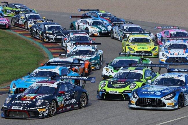 Das Rennen der GT-Masters auf dem Sachsenring verspricht packende Rundenjagden.