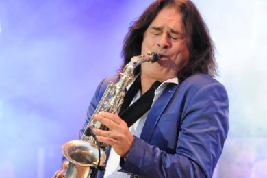 Andrew Young gastierte viermal bei Philharmonic Rock an der Göltzschtalbrücke. Nun spielt er im Stadtpark Reichenbach.