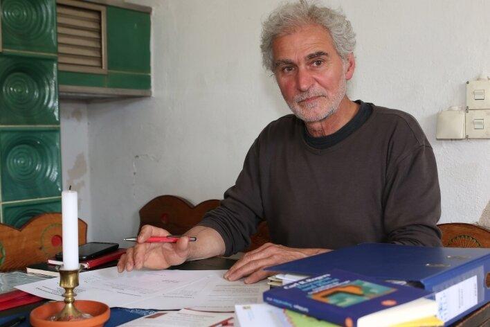 Andreas Schmidt arbeitet jetzt als Seniorenassistent.