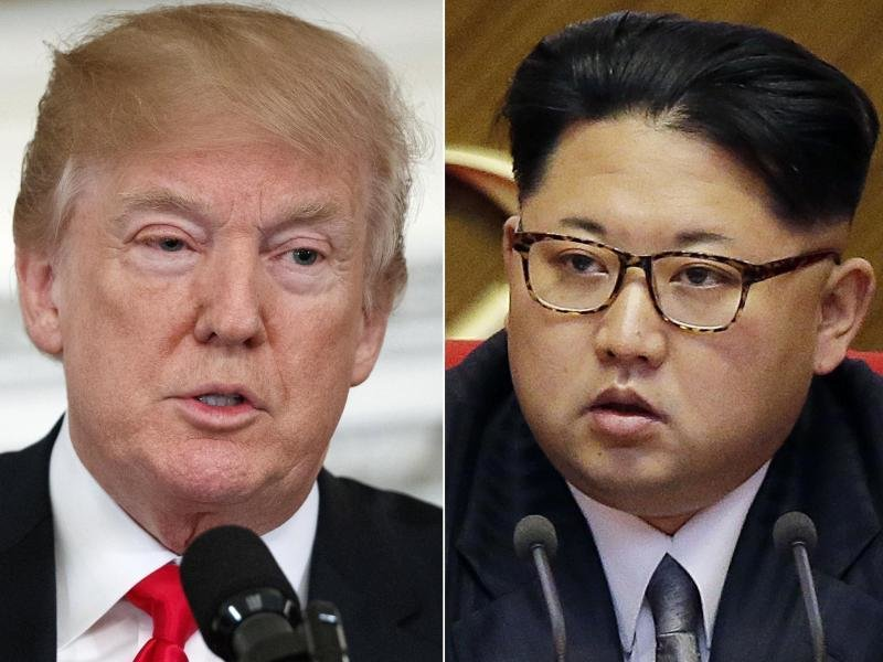 US-Präsident Donald Trump ist zu einem Treffen mit dem nordkoreanischen Machthaber Kim Jong Un bereit.
