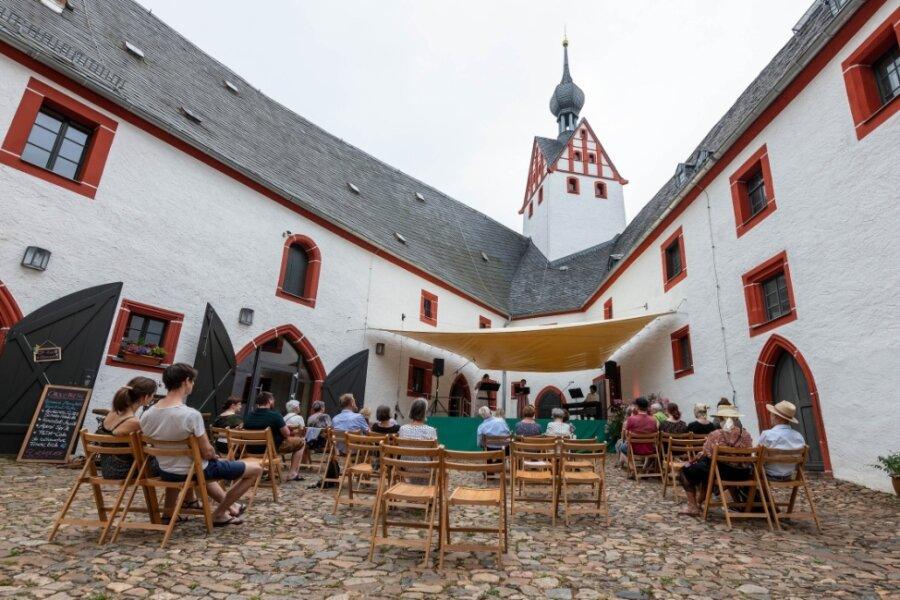 Kleines, aber feines Open-Air auf der Rochsburg