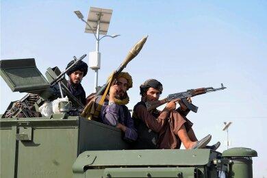 Taliban-Kämpfer in Kandahar.