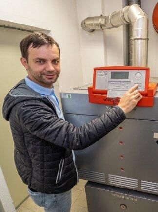 Enrico Stephan ist Energiemanager in Rodewisch.