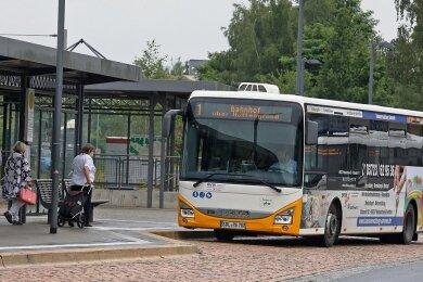 Stadtbusline 1 und 2 fahren ab nächster Woche wieder kostenlos. 2020, als Hohenstein-Ernstthal die Aktion zum ersten Mal startete, nutzten 50 Prozent mehr Menschen den öffentlichen Nahverkehr.