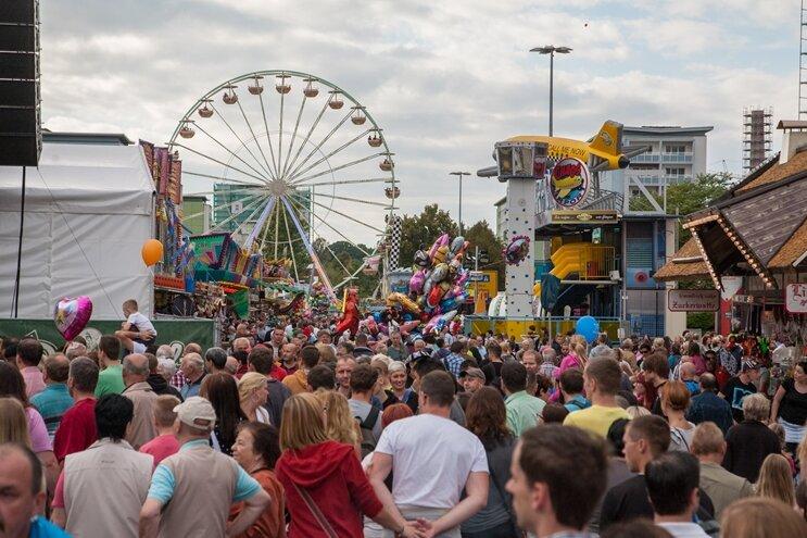 Stadtfest Chemnitz erlebt 20. Auflage