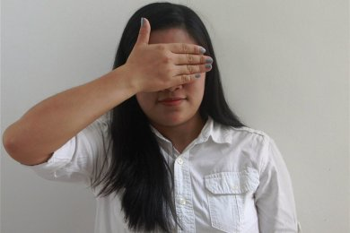 Die jahrelang missbrauchte Ruby (Name geändert) will auf den Bildern nicht erkannt werden. Eines Tages möchte die inzwischen 21-jährige Studentin als Anwältin Opfern sexuellen Missbrauchs beistehen.