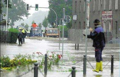 So sah es am Abend des 12. August auf der Bundesstraße 175 in Remse aus.