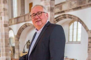 Frank Meinel, Pfarrer in der St.-Wolfgangs-Kirche.