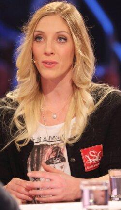 Machte auch als Gast im ZDF-Sportstudio eine gute Figur: SnowboarderinIsabella Laböck vom VSC Klingenthal.