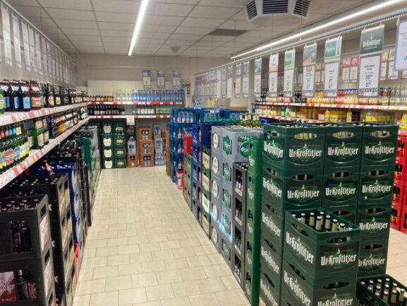 Der nahkauf Geringswalde bietet ein breitgefächertes Getränkesortiment.