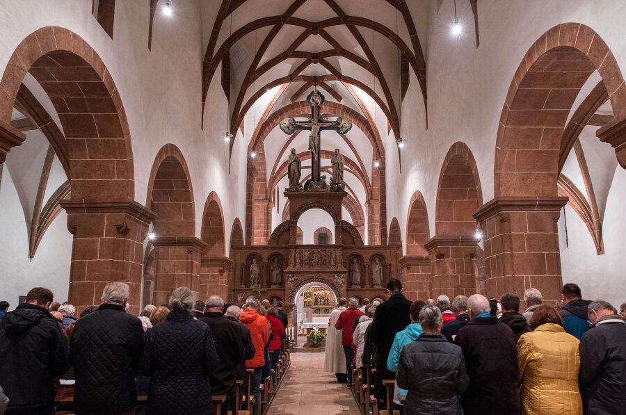 Wechselburger Stiftskirche ist jetzt päpstliche Basilika