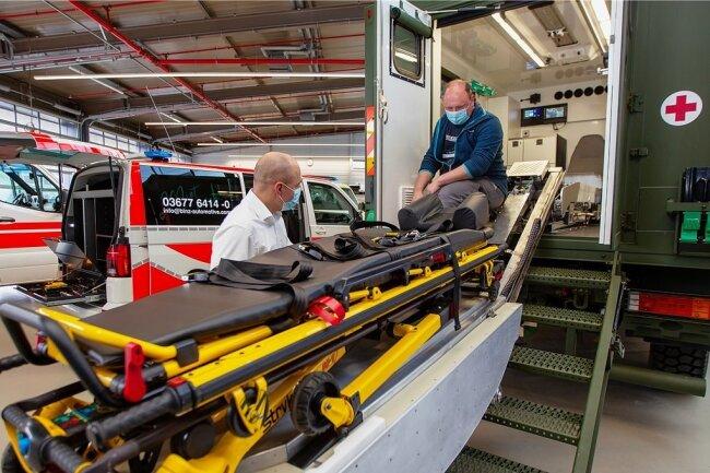 Am Leuchtsmühlenweg in Plauen sollen künftig Ambulanz- und Rettungsautos sowie Fahrzeuge für das Technische Hilfswerk gebaut werden.