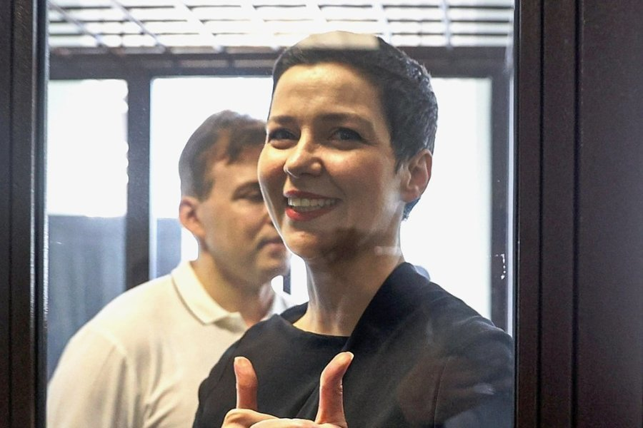 Maria Kolesnikowa - Belarussische Regimegegnerin