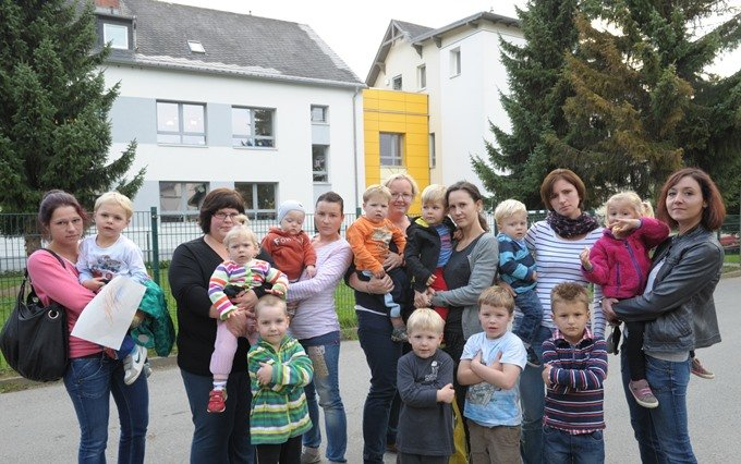 Chemnitzer Eltern kämpfen für mehr Erzieherinnen in Kindergärten
