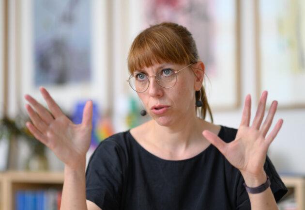 Sachsens Justizministerin Katja Meier