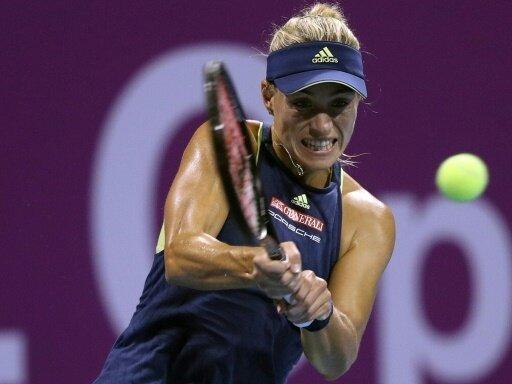 Kerber steht im Viertelfinale von Doha