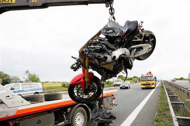 Hainichen: Motorradfahrer bei Unfall schwer verletzt