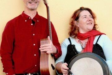 Tim O'Shea und Joan Green gastieren am Sonntag in der Kirche Oberschöna.