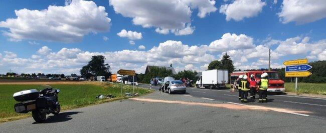 Ein schwerer Unfall ereignete sich am Dienstag auf der B 101 in Höhe Klötzerweg. Ein Motorradfahrer und eine Autofahrerin wurden schwer verletzt. Wie kann der Unfallschwerpunkt entschärft werden?