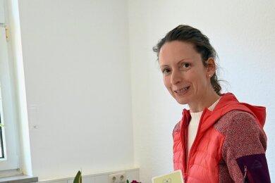 Zum Gesprächseinstieg zeigt Andrea Hölig gern Aktionskarten.