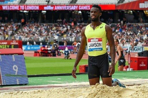 Jarrion Lawson wurde wegen Dopings vorläufig suspendiert