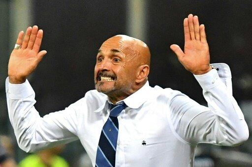 Emotionaler Aufritt: Inter-Coach Luciano Spalletti