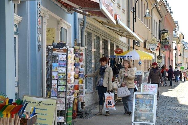 Ein guter Mix macht das Einkaufen in Auerbach attraktiv.