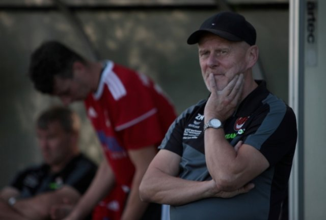 Fortuna-Trainer Matthias Zänker war nicht zufrieden mit dem Auftritt seines Teams.