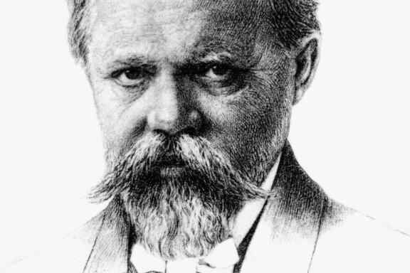 """Engelbert Humperdinck wird als Komponist auf seine Oper """"Hänsel und Gretel"""" reduziert. Dabei nahm er als Kompositionslehrer auch Einfluss auf ihrerseits so andersartig stilbildende Künstler wie Kurt Weill, Friedrich Hollaender und Robert Stolz."""