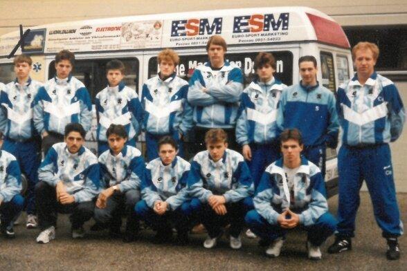Als Jugendlicher spielte Lars Kröger (hinten 3. von links) von 1994 bis 1996 in der A-Jugend des TSV 1860 München und träumte von einer Profikarriere.